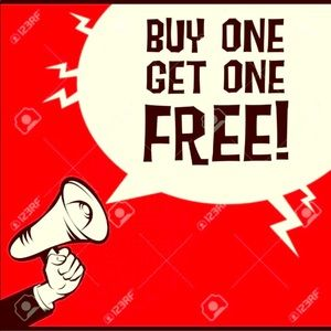 All dresses ALL BRANDS are BUY ONE GET ONE FREE